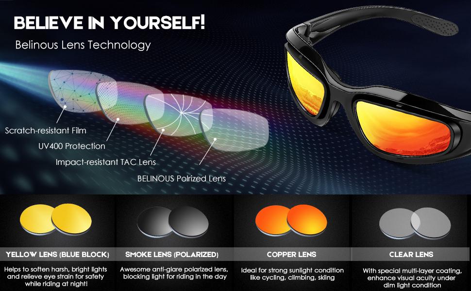 Plastic//Rubber Neon Yellow Sunglasses SET OF 4