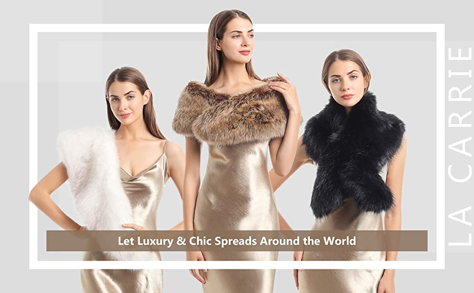 Crafted with HIGH quality Faux Fur and is lined with a warm and comfortable qulited liner inside