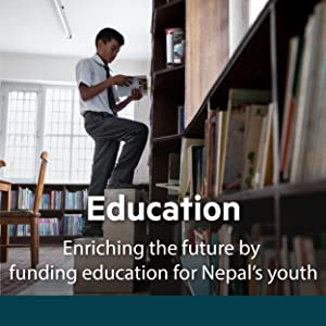 Every purchase supports the education of children in Nepal