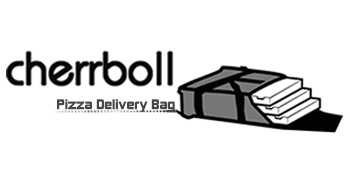 cherrboll pizza delivery bag