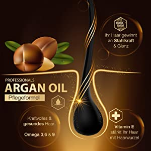 Argan Öl mit Vitamin E, Omega 3,6 & 9