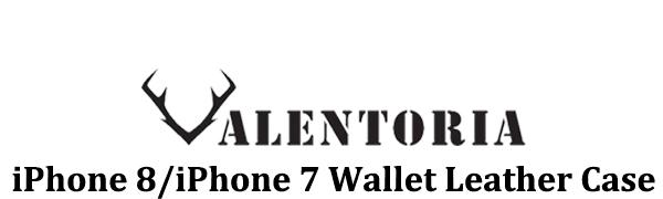 Valentoria iPhone 8 Wallet Case