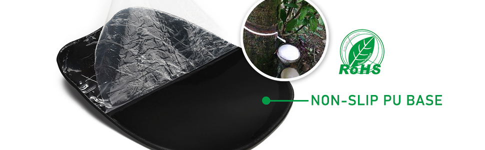 Memory Foam Mouse Pad with Wrist Rest Support