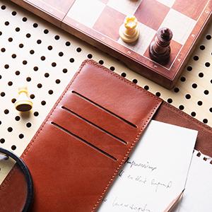 Jeereal leather portfolio