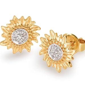 sun gold puerto rico earrings
