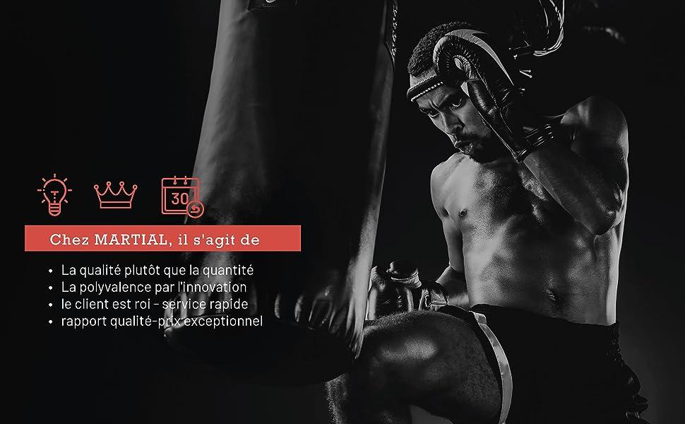 Gants Pro MMA par Martial Sac de Sable Arts Martiaux Grappling Sac de Boxe Noir qualit/é Professionnelle Construction de Haute qualit/é freefight Gants de Boxe Boxe entra/înement
