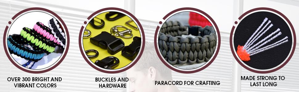 paracord, weaving, parachute, parachord