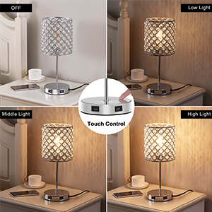 touch lamp set of 2