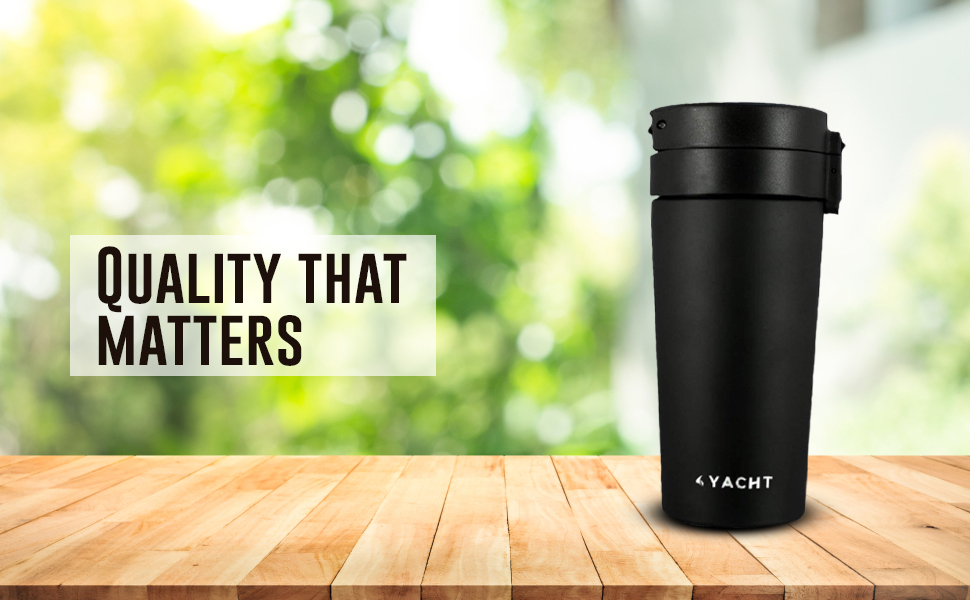Yacht travel mug coffee mug tea mug steel mug steel bottle hot and cold thermosteel vacuum double