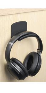 headphone hanger desk wall mount