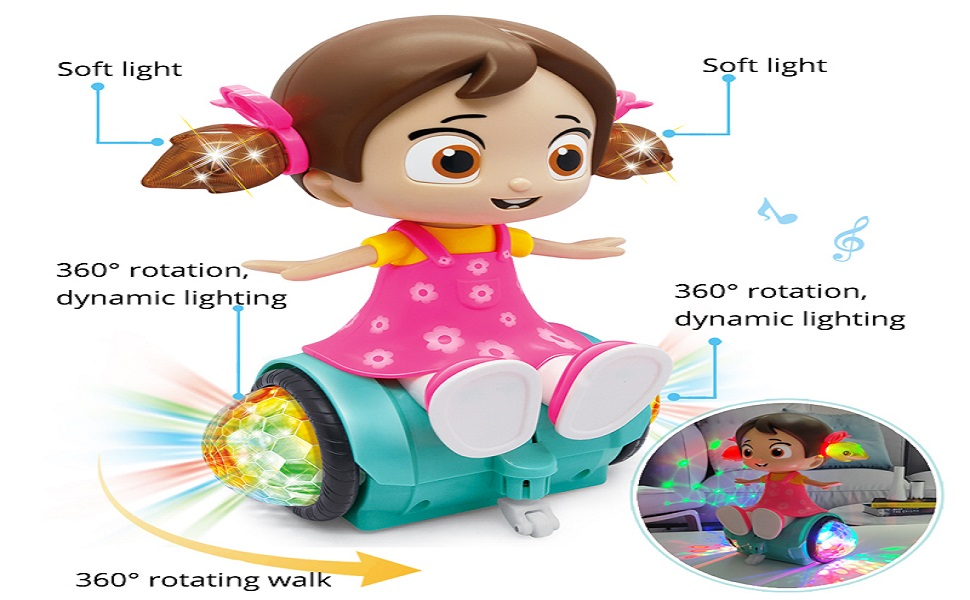 Zest 4 toyz ; Musical Dancing doll ; singing doll ; musical toy ; educational toy ; Toy for Kid