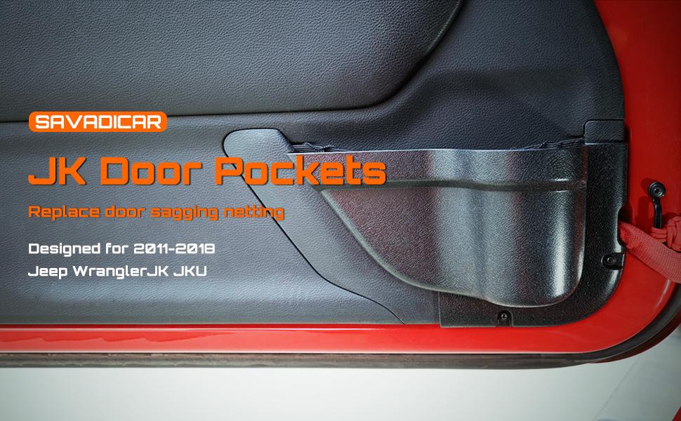 Jeep Wrangler Door Pockets