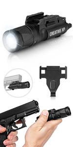 flashlight for pistols