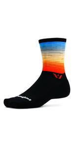 Vision Six cycling socks, Running Socks