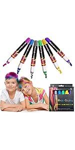 6 Color Hair Chalk Pen