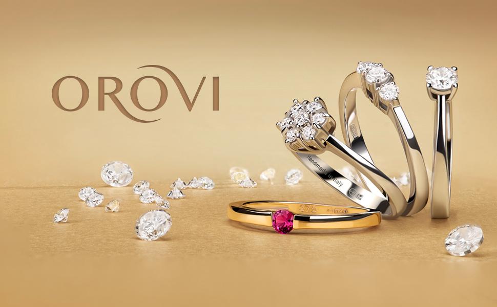 anello trilogy brillanti anello pietra centrale orecchini pendenti orecchini perle ciondolo perla