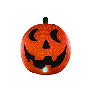 AJY 4 Feet Lovely Pumpkin Ghost Inflatable
