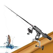 fishing rod holder for boat
