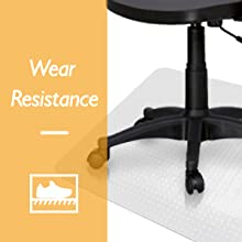 Office Chair Mat Protector for Carpeted Floors