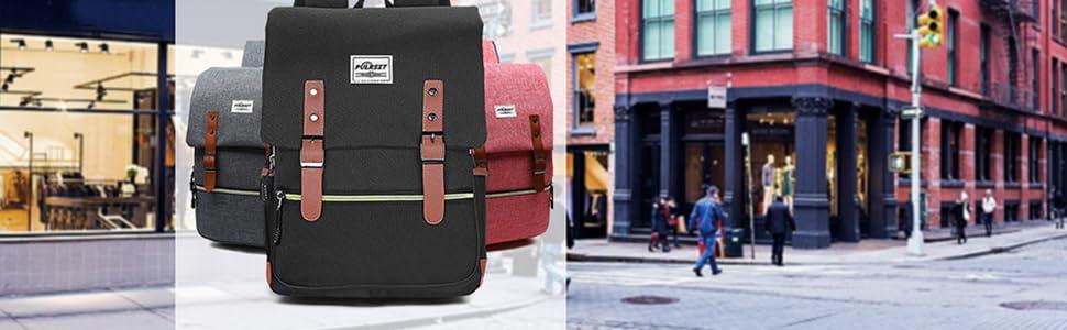 Puersit laptop backpack