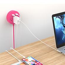 extension cord flat plug