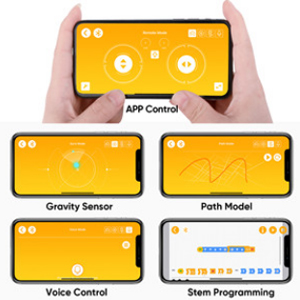 50b7ff61 f235 4f0d b0d1 8792f62b0e2d.  CR0,0,300,300 PT0 SX300 V1    - okk STEM Robot Building Block Toy for Kids, Remote and APP Controlled Engineering Science Educational Assembling Learning Kits Intelligent Rechargeable Creative Set for Boys Girls Gift (635 Pieces)