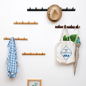 4 peg rack coat hook