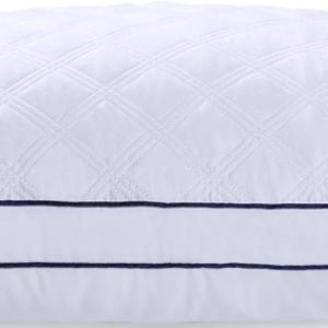 gusseted pillows gusset pillows blue pillows bedding