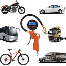 Wide compatibility tire pressure tester