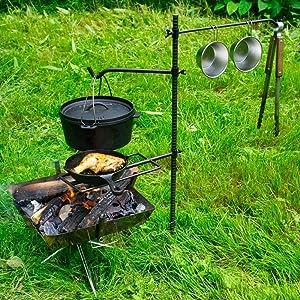 焚き火ツール 使用例