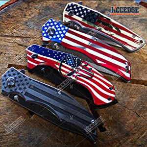 USA Flag Knife