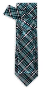 Plaid amp; Check Tie Mens Necktie