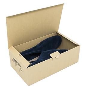 Cajeando | Pack de 10 Cajas de Cartón Automontables para Zapatos ...