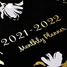 2021-2022 monthly planner