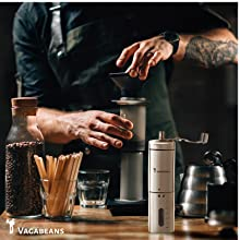 Vagabeans Manual Coffee Grinder