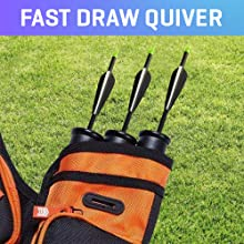 FAST DRAW QUIVER