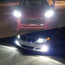 headlights and fog lights for h11 h8 h9