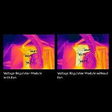 Smooth VRM fan