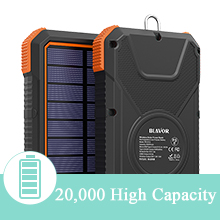 solar wireless battery bank solar phone charger usb c