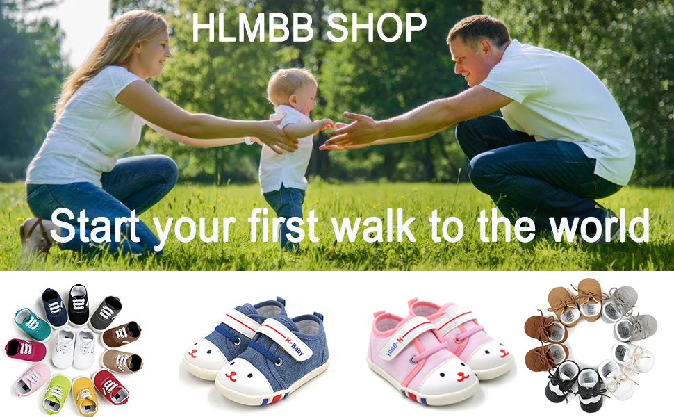 first walking shoes