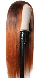 L430 straight wig