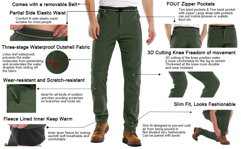 hiking pants mens