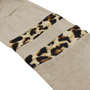 leopard sleeve