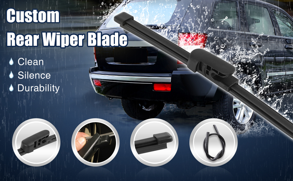 Automotiveapple Genuine Rear Wiper Blade Brush for Hyundai Veloster /& Turbo