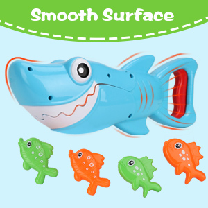 shark grabber bath toy for toddler