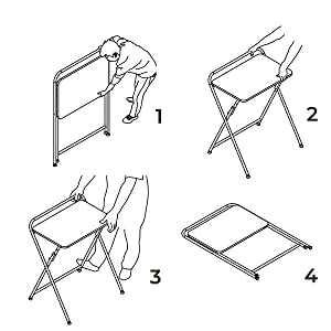 SOFSYS Folding Desk