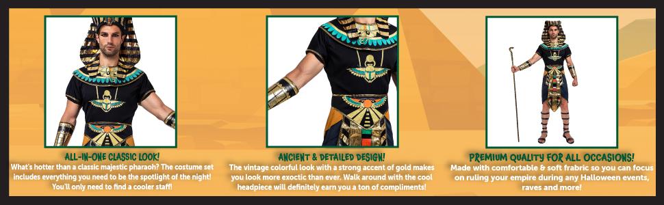 Egyptian King Pharaoh Deluxe, Spooktacular creations