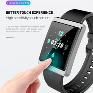 Touch screen smart watch