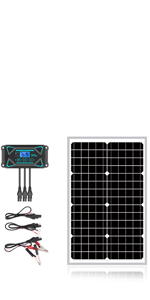 30W Mono Solar Panel Kits