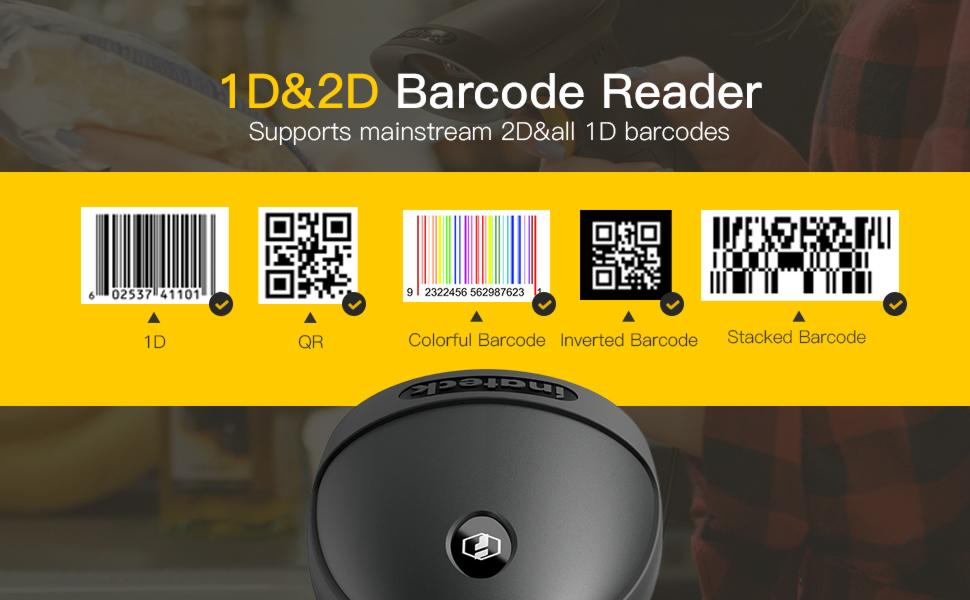 1D 2D Barcode Reader